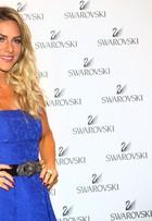 Giovanna Ewbank participa de evento, em São Paulo, e fala do maridão