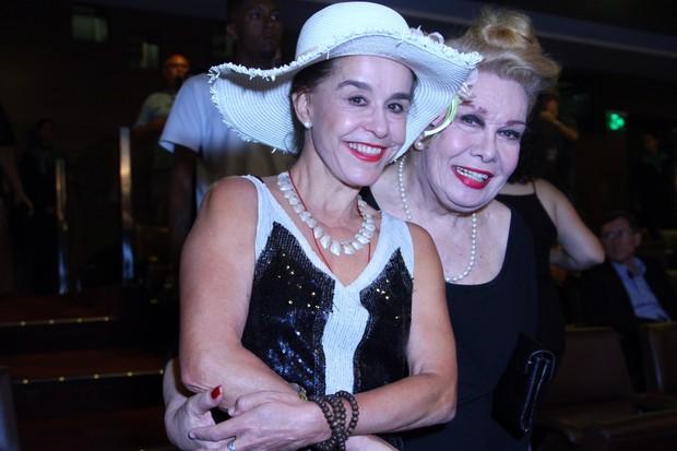 Lucélia Santos e Rogéria (Foto: Anderson Borde/AgNews)