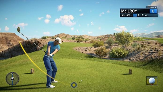 EA Sports Rory Mcilroy PGA Tour (Foto: Divulgação)