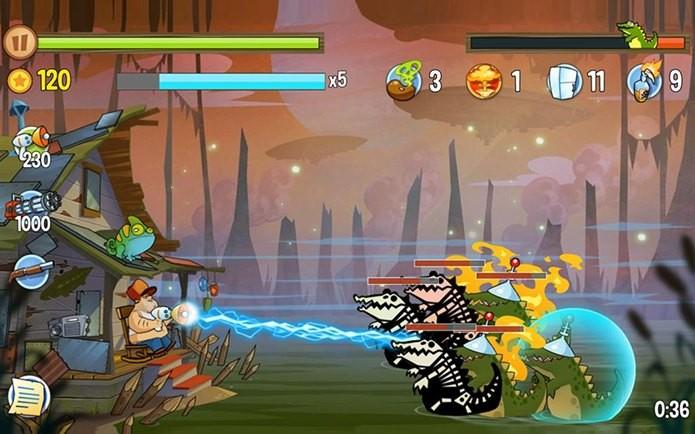 Detenha as criaturas zumbi do pantâno, neste jogo maluco (Foto: Divulgação)