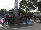 Portões da USP são liberados após protesto e reitoria quer impor multa