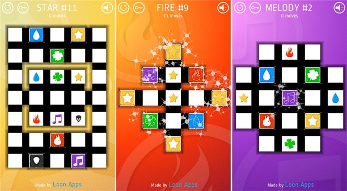 Match exige que você resolva o tabuleiro para avançar de fase (Foto: Divulgação/Windows Phone Store)