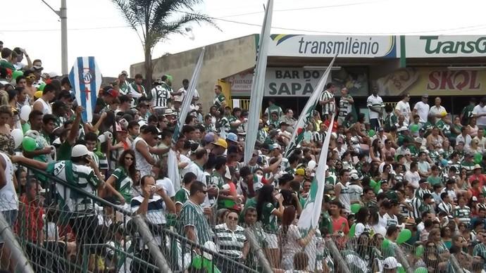 Torcida, Mamoré, Mineiro, campeão, Patos de Minas, Módulo II (Foto: Esporte Clube Mamoré)