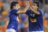 BLOG: Juntos, Ricardo Goulart e Marcelo Moreno têm mais gols do que 11 times na Série A