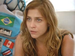 Paulinha não quer saber de fraqueza (Foto: Além do Horizonte/TV Globo)