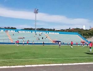 Portuguesa Santista Paulínia Segunda Divisão Campeonato Paulista (Foto: Divulgação / Portuguesa Santista)