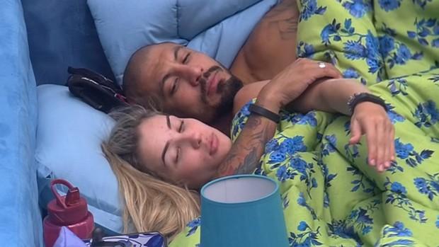 Aline e Fernando (Foto: Reprodução/Globo)