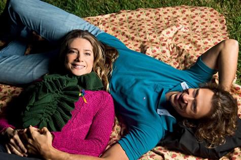 Letícia Spiller e Lucas Loureiro (Foto: Miguel Sá)
