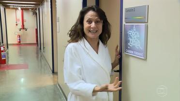Zezé Polessa revela segredo dos cabelos de Edinalva