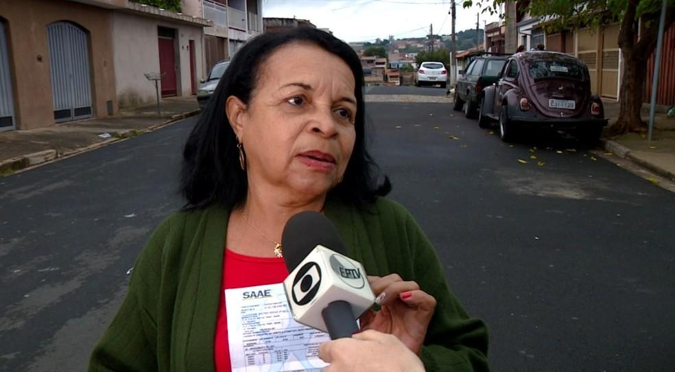 A dona de casa Maria José de Souza (Foto: Reprodução / EPTV)
