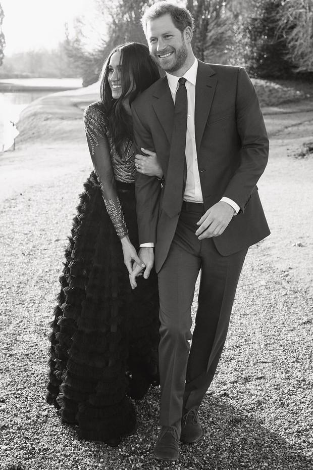 Meghan Markle e príncipe Harry  (Foto: Reprodução/ Instagram)