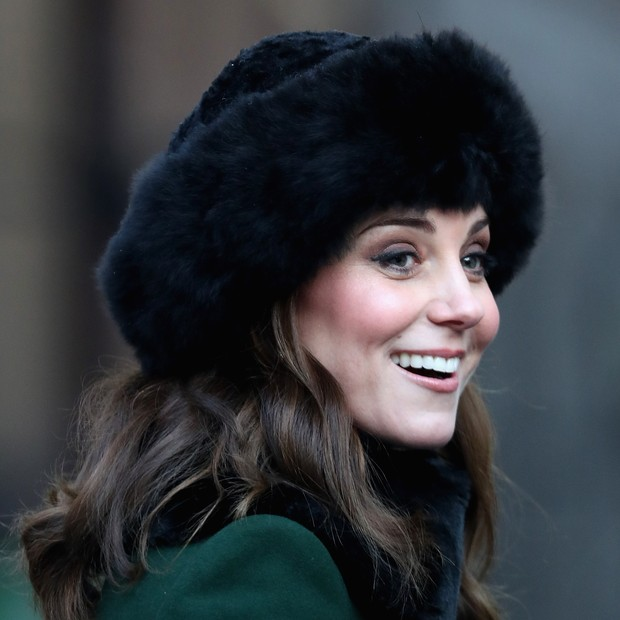 STOCKHOLM, SWEDEN - JANUARY 30:  Catherine, Duchess of Cambridge visits the Old Town during day one of their Royal visit to Sweden and Norway on January 30, 2018 in Stockholm, Sweden  (Photo by Chris Jackson - Pool/Getty Images) (Foto: Getty Images)