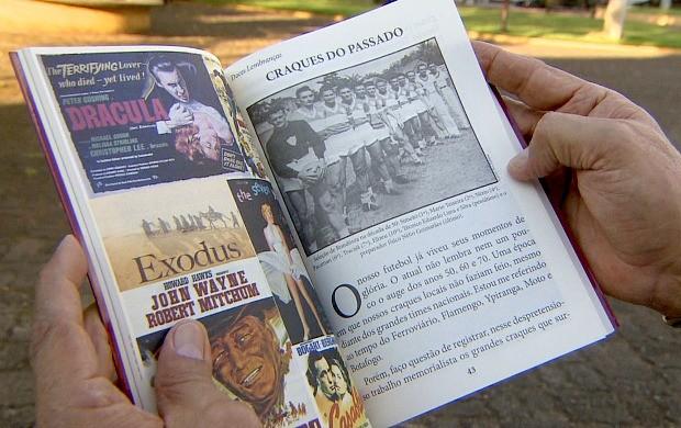 Historiador Anísio Gorayeb lança livro 'Doces Lembranças' em Porto Velho (Foto: Rondônia TV)