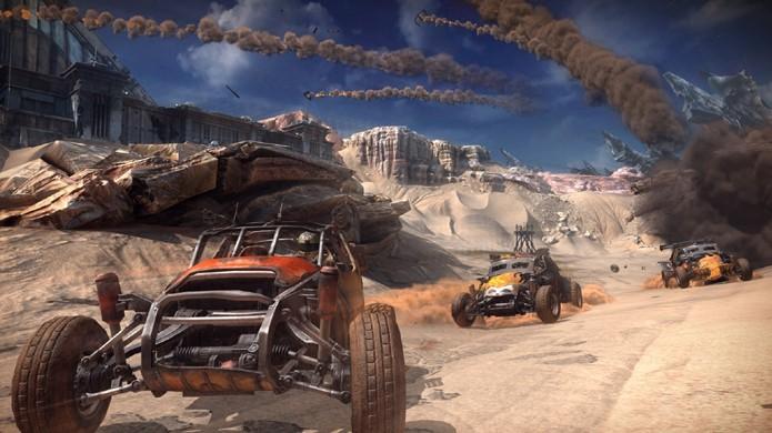 Rage 2 poderia trazer mais foco para os veículos como Mad Max (Foto: Reprodução/Player Attack)