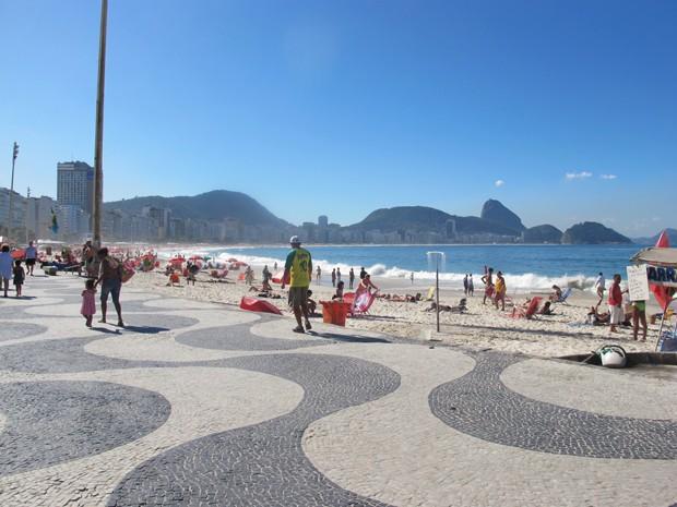 Copacabana completa 120 anos nesta sexta-feira (6) (Foto: Janaína Carvalho/G1)