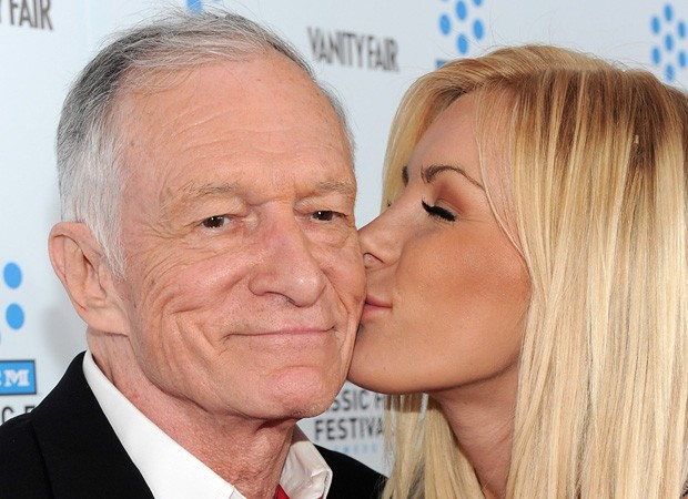 Hugh Hefner e Crystal Hefner (Foto: Getty Images)