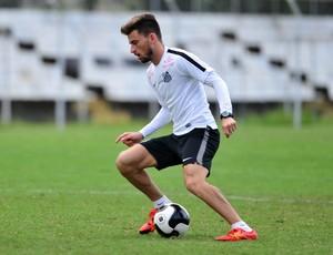 Lucas Lima - Santos (Foto: Ricardo Saibun / Santos FC)