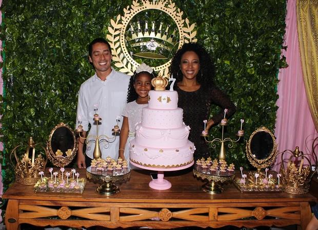 Aniversário de Sofia, filha de Negra Li (Foto: Ricardo Carvalho / Divulgação)