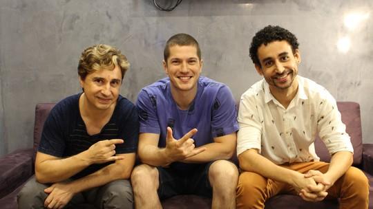 Caio Paduan, Paulo Verlings e Leandro Daniel revelam segredos dos bastidores de 'Rock Story'