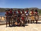 População ribeirinha se reúne para homenagear Domingos Montagner