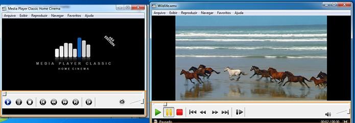 Media Player Classic personalizado (Foto: Reprodução/Barbara Mannara)