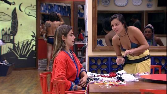 Vivian compara Elettra com Elis Nair: 'Ela é bem parecida'