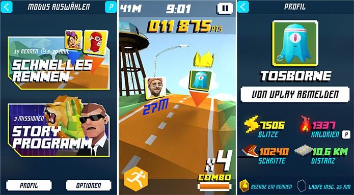 Shape up Battle Run é um app que mistura corrida e jogos (Foto: Divulgação/Windows Phone Store)