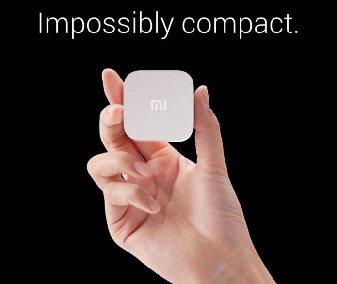 Aparelho da chinesa Xiaomi é super compacto (Foto: Divulgação)