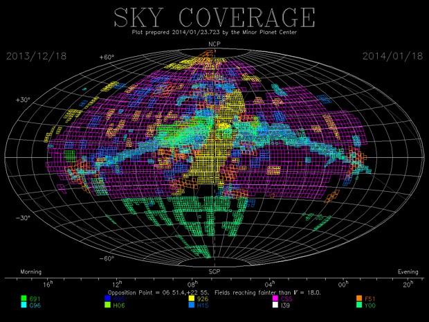 Sistema de monitoramento do céu mostra que o Sonear é o único no hemisfério Sul a realizar patrulhamento (Foto: Cristóvão jacques/Reprodução )