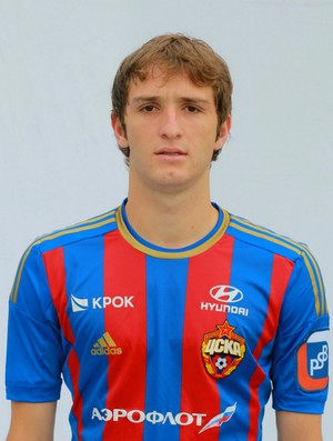 Mário Fernandes CSKA (Foto: Reprodução / Site Oficial do CSKA)
