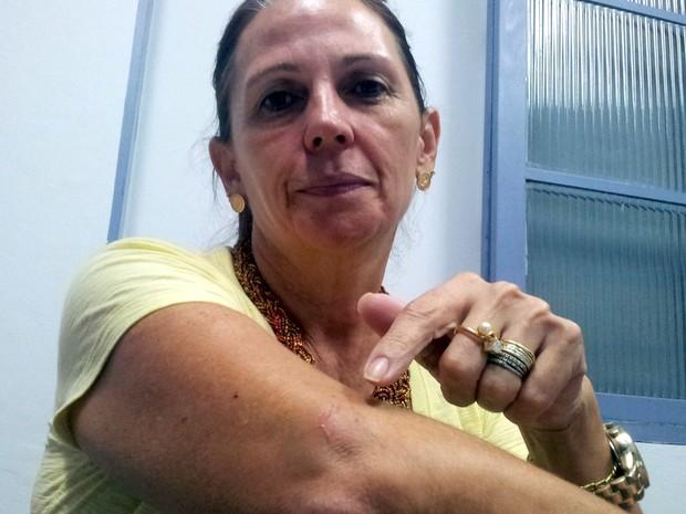 Angela Savian, vice-presidente do Sindicato dos Bancários de Piracicaba (Foto: Thomaz Fernandes/G1)