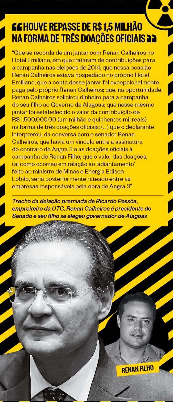 Renan Calheiros  (Foto: Igor Pereira / Editora Globo e Sérgio Lima/Folhapress)
