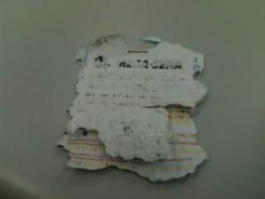 Em Ponta Grossa, homem tentou retirar prêmio com bilhete falso (Foto: Reprodução/RPC TV)