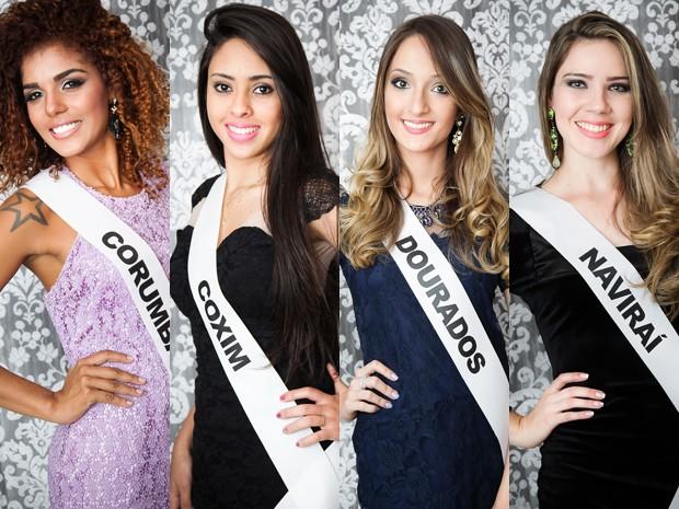 Candidatas do Miss MS 2014 (Foto: Alexis Prappas)