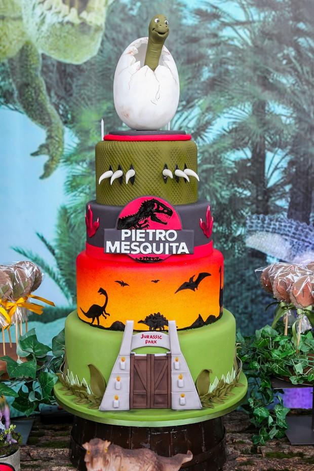 Festa de aniversário de Pietro, filho de Otávio Mesquita e Melissa Wilman (Foto: Manuela Scarpa/Brazil News)