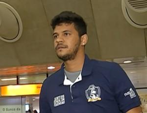 Kiros - atacante do Remo (Foto: Reprodução/TV Liberal)