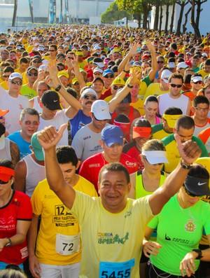 Meia Maratona de Fortaleza corredores (Foto: Divulgação)
