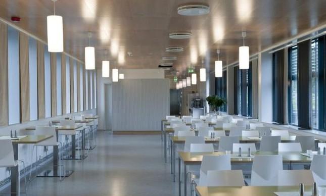 Sala de Aula numa prisão na Noruega (Foto: Arquivo Google)