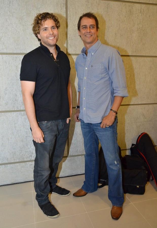 Thiago Fragoso e Marcello Antony (Foto: Léo Marinho e Alex Palarea/AgNews)