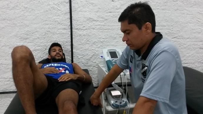 Alvinho - atacante - tratamento no ABC (Foto: Divulgação/ABC)