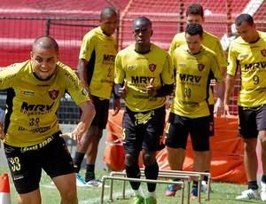 felipe azevedo sport treino (Foto: Aldo Carneiro / Pernambuco Press)