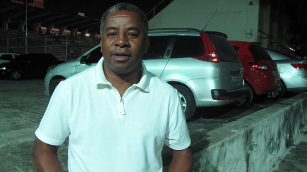 Andrade, técnico de futebol (Foto: Globoesporte.com)