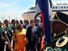 Dilma Rousseff chega à África do Sul