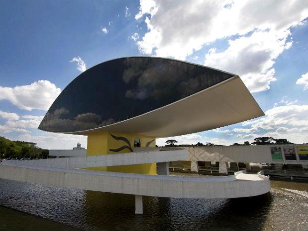 Museu Oscar Niemeyer (Foto: Agência de Notícias do Paraná / Divulgação)