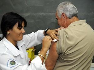 Vacinação contra a gripe, em Campinas (Foto: Prefeitura de Campinas)