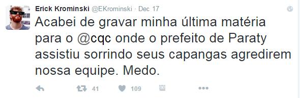 Erik Rominski (Foto: Twitter / Reprodução)