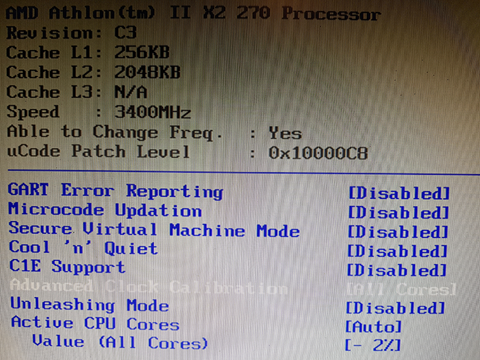 BIOS de algumas placas-mãe permitem acesso a regulagens mais avançadas a respeito do regime de funcionamento do processador (Foto: Filipe Garrett/TechTudo)