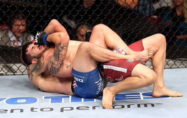 Mitch Gagnon e Roman Salazar, UFC (Foto: Getty Images)