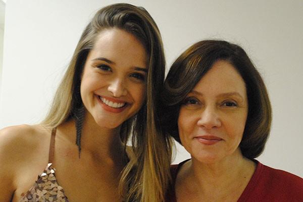 Fatinha e dona Vilma (Foto: TV globo/Malhação)