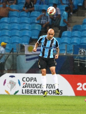 grêmio cris huachipato (Foto: Lucas Uebel/Grêmio FBPA)